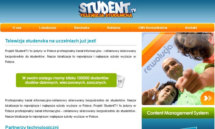 Zdjęcie projektu Student.tv